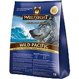 WOLFSBLUT Trockenfutter WILD Pacific 6 Sorten Fisch + Kartoffel Adult für Hunde 15,0 kg