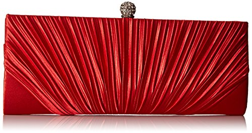 jessica-mcclintock-flora-pleated-frame-clutch-evening-bag-red-one-size