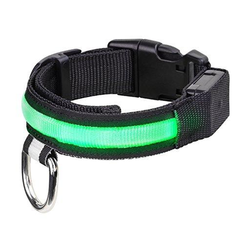 Pawaboo LED Collarín Perro - Adjustable Brillante