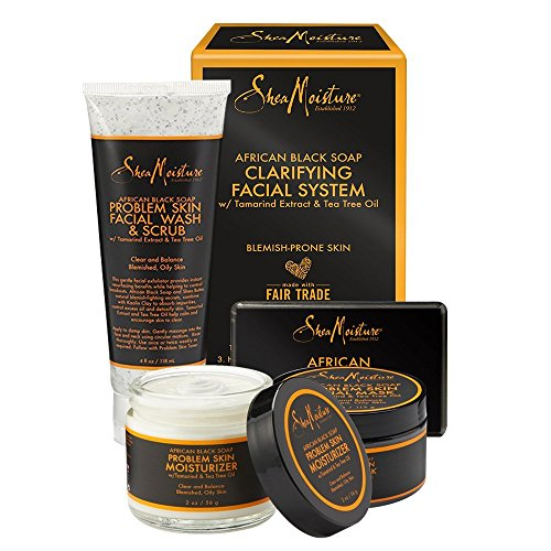 Shea moisture african black soap acne care kit by shea moisture