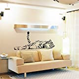 Perfecta decoración de la pared de fondo del hogar Impermeable y resistente a la decoloración es una etiqueta de pared perfecta para decorar su habitación y expresarse. Se ve perfecta decoración de la pared del fondo de casa absolutamente sagrada. Lo...