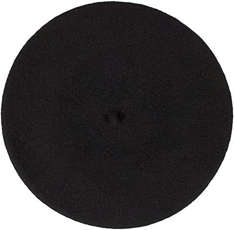 Beret Femme Noir - Loevenich - Béret - Femme taille unique