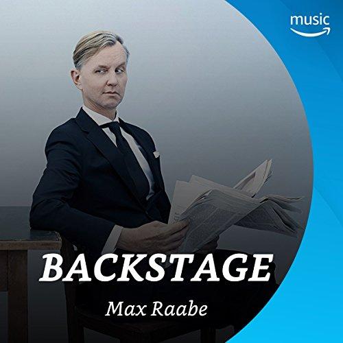 Backstage mit Max Raabe