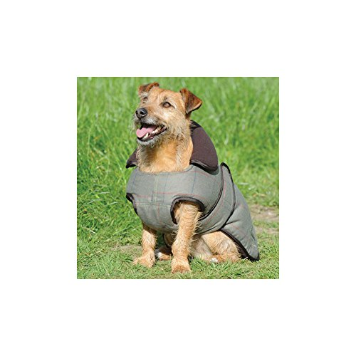 Weatherbeeta Tweed Dog Jacket 60cm Olive (Tweed-wrap)