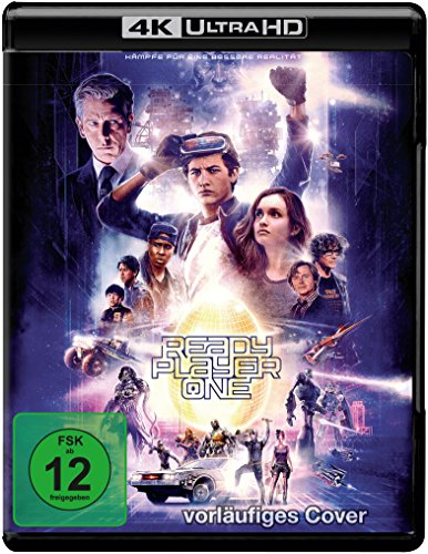 Ready Player One (Steelbook) - Ultra HD Blu-ray [4k + Blu-ray Disc]
