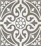 British Ceramic TIle BCT11064 HD Devon Stone Feature Floor Tile Grey 331 x 331 x 1m2