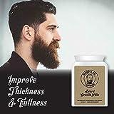 HUGO & CO LONDON BEARD GROWTH PILLS – PILLOLE LA BARBA DI CRESCITA - FERMA patchiness BIG folta barba CRESCERE