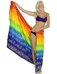 bikini couvrent station piscine maillot de bain beachwear enveloppe cadeau pareo floral