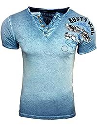 HERREN T-Shirts TShirt NEU Größe S M L M XL XXL RUNDHALS KURZARM Regular RN15046