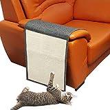 KOBWA Katzen Kratzmatte Kratzschutz Sofa, Sisal Sofaschutz Pad, Couch Katzenkratzmatte Sisal Kratzteppich für Katze