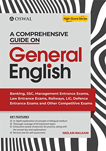 A Comprehensive Guide on General English for Competitive Examinations