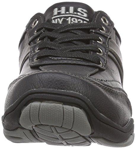 HIS His, Sneakers basses homme Noir - Noir