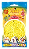 Hama-207-43 Conjunto de Cuentas, Color Amarillo