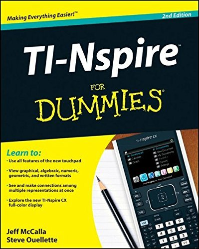 TI-Nspire For Dummies by Jeff McCalla (2011-06-07)