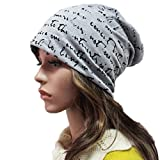 THENICE Unisex lettera Cappello Beanie Cuffia Berretto Cap - THENICE - amazon.it