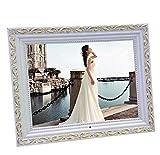 digital Fhoto 15 Inch Digital Photo Frame With Motion Sensor Classic Wooden Photo Frame Digital Photo Frames HD Screen Digital Photo Frames Electronic Album , A