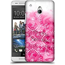 Official Micklyn Le Feuvre Pink And Patterns Mandala 2 Hard Back Case for HTC One mini