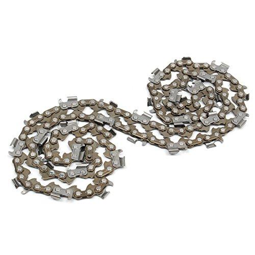 Faway Chainsaw Chains 2PCS 50,8cm bar motosega semi scalpello 1cm 0.05876DL per TIMBERPRO 62CC