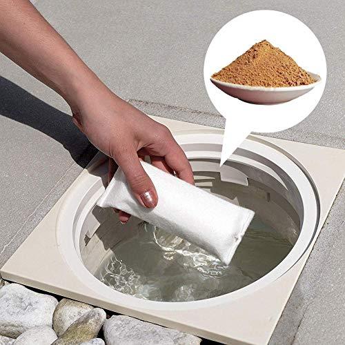 Motto.h Professionelle Flockungsmittel Pool-Flockungsmittel - Flockungs-Kartuschen für kristallklares Wasser, entfernt feinste Schmutzteilchen im Pool Way