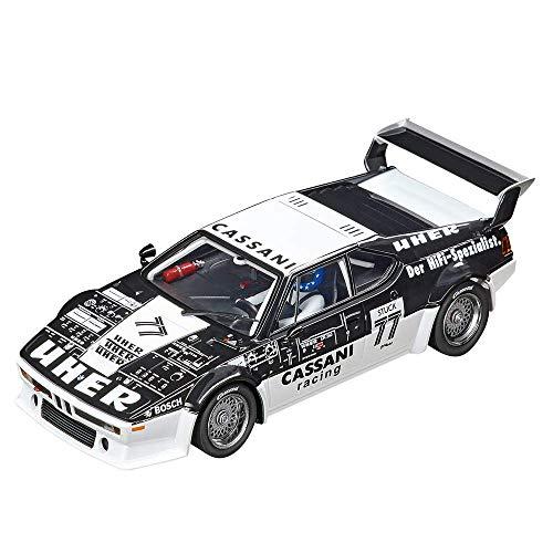 Carrera 20030886 BMW M1 Procar Cassani Racing No.77, 1979, Mehrfarbig (Slot Car Carrera 1 32)