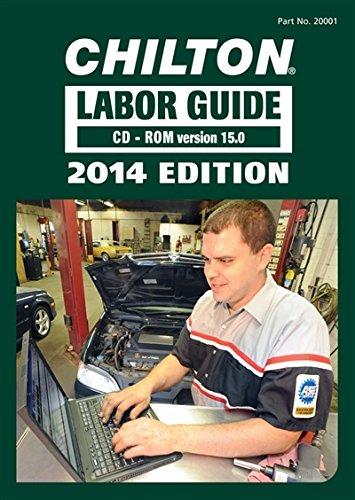 Chilton 2014 Labor Guide CD-ROM (Domestic & Import)