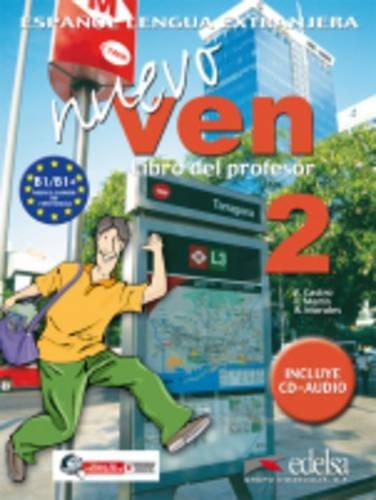 Nuevo Ven 2 : Libro del profesor (1CD audio)