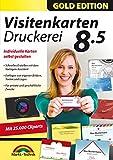 Produkt-Bild: Visitenkarten Druckerei 8.5 - professionelle Visitenkarten gestalten und drucken für Windows 10 / 8.1 / 8 / 7
