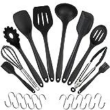 Die besten Küchenutensilien - CRMICL 10 Pack Silikon Küchenhelfer, Silikon küchenutensilien, Silikon Bewertungen