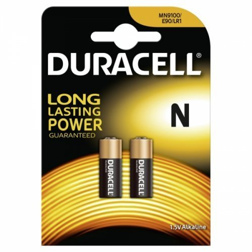 Batterie Duracell Security MN9100 2er Blister, Alkaline, 1,5V