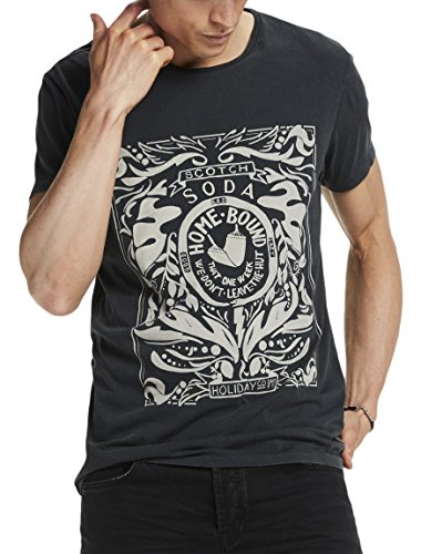 scotch-soda-herren-t-shirts-tee-in-cotton-jersey-quality-with-poster-artwork-schwarz-washed-black-01