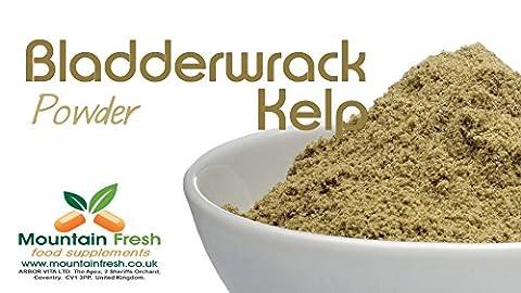 Organic Kelp / Bladderwrack Powder - Seaweed Superfood Supplement 25g FREE UK Delivery