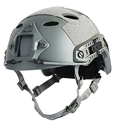 OneTigris PJ Type Lightweight Tactical Safety Fast Helmet for Outdoor Airsoft Paintball War Game