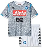 SSC Napoli Kit Gara Third 2018/2019 Bimbo, Grigio, 14 anni