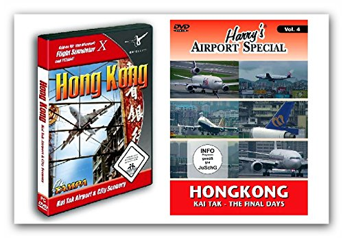 bundle-flight-simulator-x-hongkong-kai-tak-airport-city-scenery-dvd-harrys-airport-special-kai-tak-v
