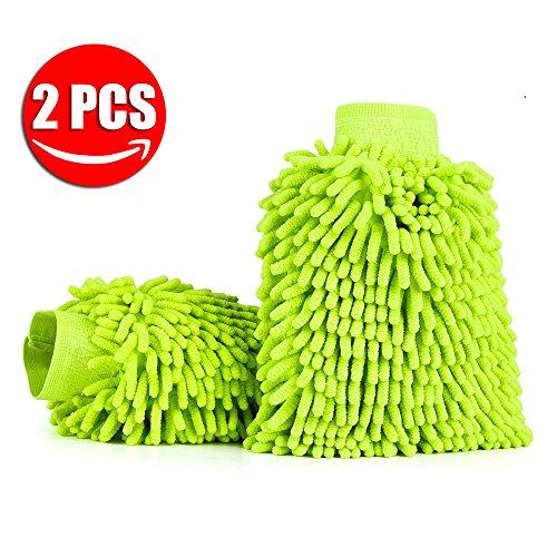 aodoor-2-pezzi-auto-wash-mitt-autolavaggio-guanto-pulizia-lavare-guanti-con-panno-in-microfibra-verd