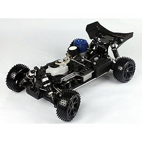 VRX Racing - Coche RC Spirit N2 1/10 Nitro Motor 18 2vel.Naranja - RH1007-110