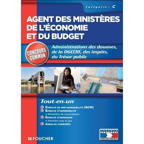 Agent des ministères de l'économie et du budget catégorie C