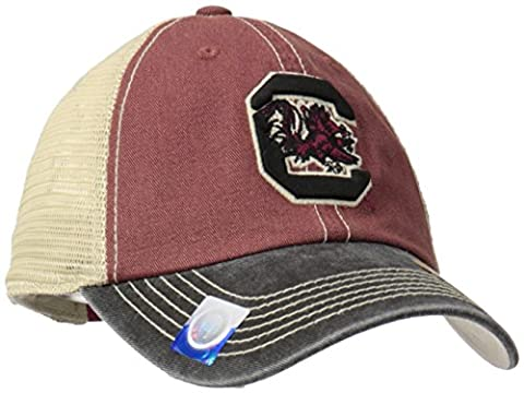 Top of The World NCAA Off Road Adjustable Cap, One Size, Garnet/Stone