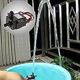 Laurelmartina DC 12V 240L / H Bomba eléctrica Sumergible de Agua Mini Ultra silenciosa Bomba Negra Hardware mecánico Acuario Pro Bomba de Agua