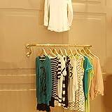 LBMy Bekleidung Shop Racks Display Ständer Massivholz Wand Hängende Wand Kleiderständer Kleiderständer ( Farbe : B , größe : 100cm )