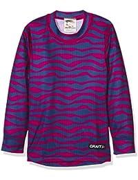 Craft cr1904518–Camiseta Niña, CR1904518, 2041 Tiger Smoothie/D, 104