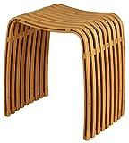 Nicol 1434960 Hocker Fabian, Bambus, Sitzhöhe, 44,5 cm