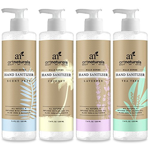 art-naturals-set-desinfectant-pour-les-mains-pack-de-4-220-ml-chaque-unite-formule-la-plus-naturelle