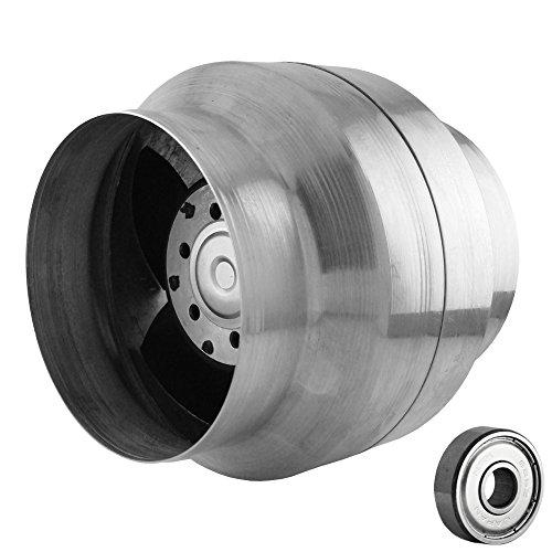 MMotors VOK150/120 Kanalventilator mit Rückstauklappe und doppeltgekapselten Kugellager | 150°C | 240m3 pro Stunde