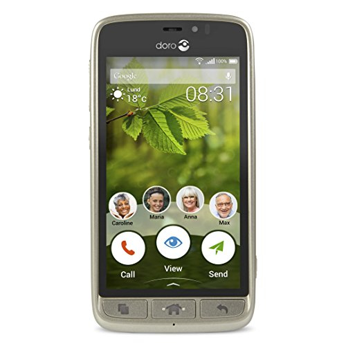 Doro Easy 8031 Telefono Cellulare, 8 GB, Champagne