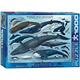 Eurographics Whales and Dolphins Puzzle (1000 Pieces)