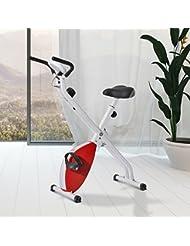 Bicicleta Estatica Spinning Fitness 8 Niveles Carga Maxima 110 Kg Pantalla Digital Temporizador Velocidad Distancia Calorias
