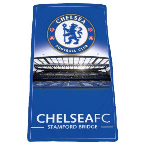 Original Chelsea London FC Stamford Bridge Stadion Badetuch/Strandtuch/Handtuch 150x75 cm 2014