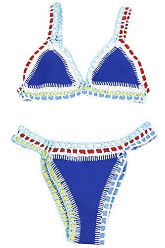 YARBAR Donne Bikini Sexy Misto Delle di Colore di Reggiseno