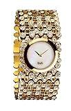 D&G Dolce&Gabbana Damen-Armbanduhr RISKY IPG MOP DIAL BRC DW0244